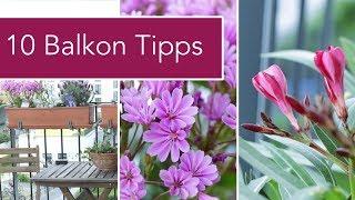 10 Tipps für den perfekte Balkon