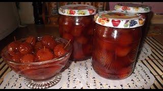 Янтарное варенье из райских яблочек. Рецепт как приготовить варенье пятиминутку.