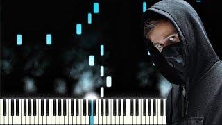 Alan Walker, K-391, Tungevaag, Mangoo - PLAY   Piano Instrumental Cover