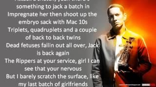 50 Cent Psycho (Lyrics) Ft Eminem