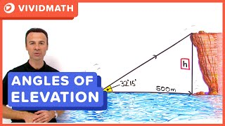 Angles Of Elevation - VividMaths.com
