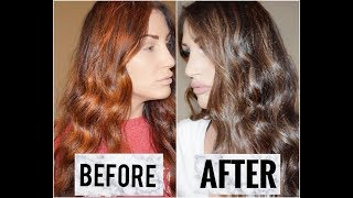 HOW TO FIX BRASSY ORANGE HIGHLIGHTS AT HOME FOR CHEAP !