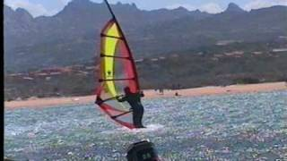 preview picture of video 'TITANIC: windsurf Sardegna Porto Pollo 2000'