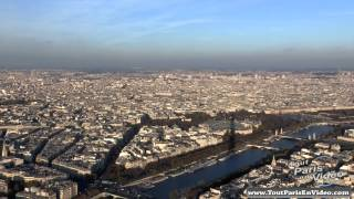 Aerial Tous of the Eiffel Tower - Paris (by ToutParisEnVideo)