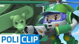 Special Mission! Save the kitty! | Robocar Poli Rescue Clips