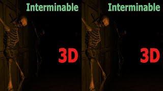 3D VR horror video Interminable  3D SBS VR box Google Cardboard