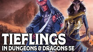 Playing Tieflings in Dungeons & Dragons 5e