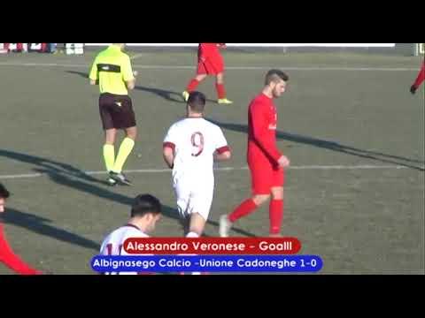 immagine di anteprima del video: Albignasego Calcio-Unione Cadoneghe 2-0 (06.01.2019)