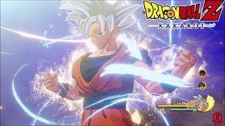 Dragon Ball Z: Kakarot – Mastered Ultra Instinct Goku Gameplay & Transformations [1080p 60fps]