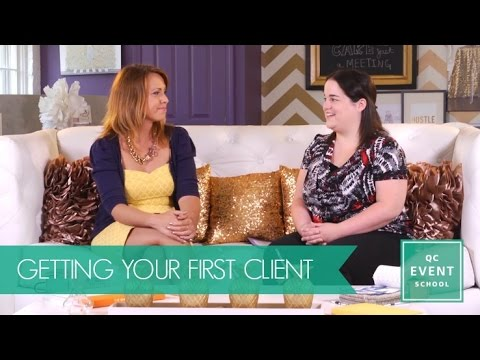 Getting Your First Client - QC Event School