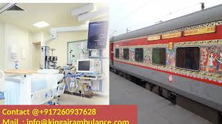 Get the Best & Fast Train Ambulance from Delhi and Kolkata