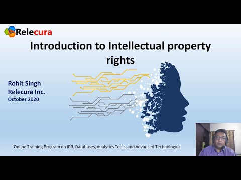 IPR Online Training Program Part I - Introduction to Intellectual ...