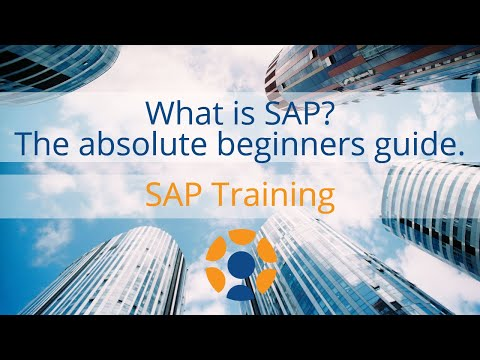 What is SAP? Why SAP? Scope of SAP