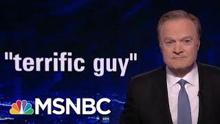 Jeffrey Epstein, Called 'Terrific' By Trump, Charged With Sex Trafficking | The Last Word | MSNBC