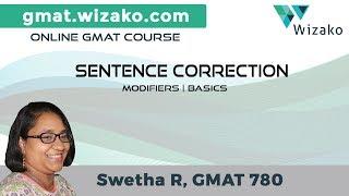 GMAT Sentence Correction   Modifiers - Basics   GMAT Verbal Lessons   GMAT Preparation Online