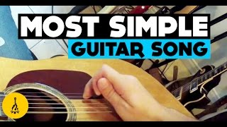 Most Simple Guitar Song | Easiest Song To Play On Guitar For Beginners Acoustic