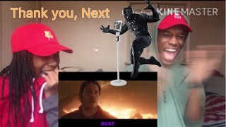 "Azerrz ""Black Panther sings Ariana Grandes Thank u, Next"" REACTION!!!"