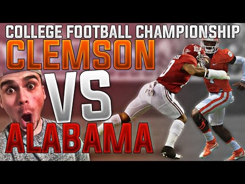WHAT IF THE ALABAMA CRIMSON TIDE PLAYED THE CLEMSON TIGERS IN THE BCS CHAMPIONSHIP?! MADDEN 17