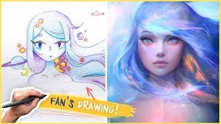 DRAWING A FANS CHARACTER!