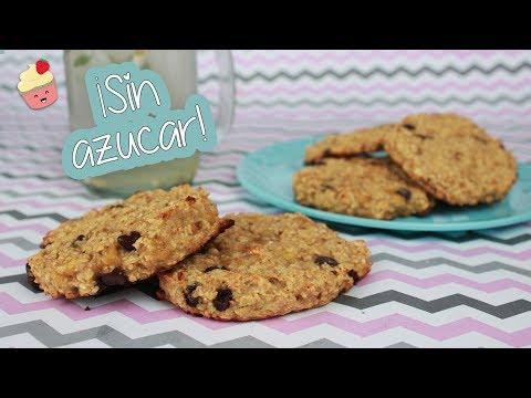 GALLETAS DE AVENA FIT ¡Sin azúcar y sin harina!│ Vainilla Crocante