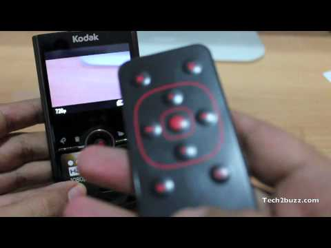 Kodak Zi8 remote unboxing and test
