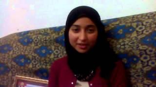 الطالبه مروة محمد عيسى ابو حموده تتحدث عن مأساتها مع التعليم بعد حصولها على صفر فى الثانوية العامه