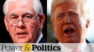 Trump calls Tillerson 'dumb as a rock'   Power & Politics