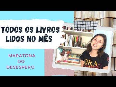 TODOS OS LIVROS LIDOS NO MÊS - MARATONA DO DESESPERO