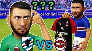 Sampdoria Vs Ac Milan 1-0 | Donnarumma Mistake