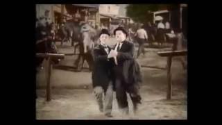 Laurel & Hardy Dancing To Steeleye Span All Around My Hat