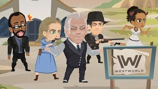 The Story of Westworld in 3 Minutes!