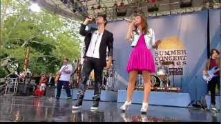 Joe Jonas Demi Lovato Wouldn't Change A Thing GMA 2010 HD