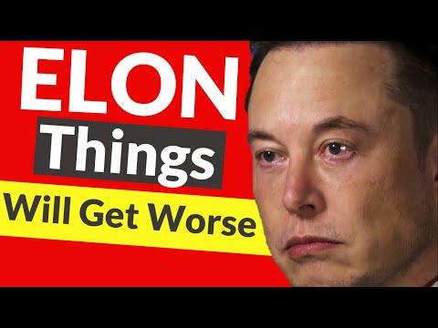 🚨 Elon Musk Warns Of Tesla Stock CRASH? 🚨 Why Tesla Stock is Falling: Buy or Sell TSLA Stock?