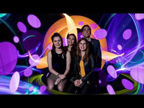 X Premios Nacionales Marketing. Photocall Light Painting