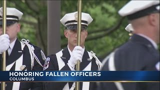 Columbus police ceremony remembers fallen officers