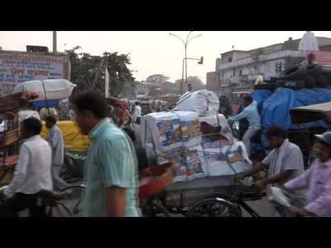 Indien 2014 Delhi-Verkehr3