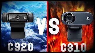 Kamerka Logitech c920 PRO vs C310 - PORÓWNANIE WIDEO
