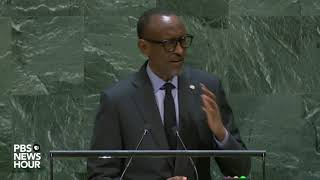 WATCH: Rwanda President Paul Kagame's full speech to the UN General Assembly