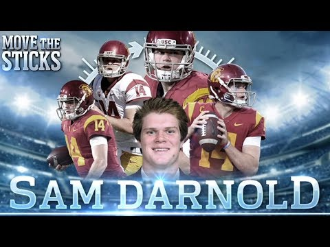 Sam Darnold's NFL Draft Profile with College & High School Highlights   MTS 360 Series