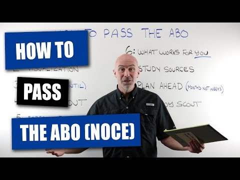 How To Pass The ABO (NOCE) Optician Exam - YouTube