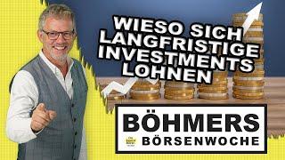 Wieso es sich lohnt, langfristig in Aktien zu investieren