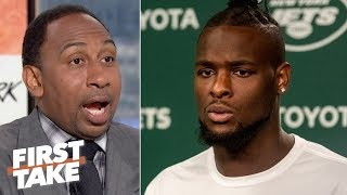 Le'Veon Bell shouldn't have opened his mouth on social media - Stephen A.   First Take