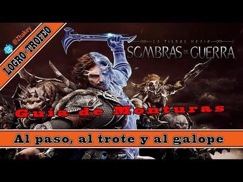 Sombras de Guerra - Guía de Monturas - Logro / Trofeo Al paso, al trote y al galope (Rough Rider)
