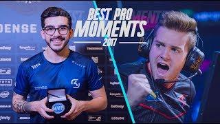 CS:GO - BEST PRO MOMENTS! 2017 (Flickshots, Crazy Clutches, Inhuman Reactions, ACEs, Best Frags)