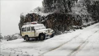 Yesterday Snow Fall Madhmanley And Lacher ( Pithoragarh Uttarakhand )