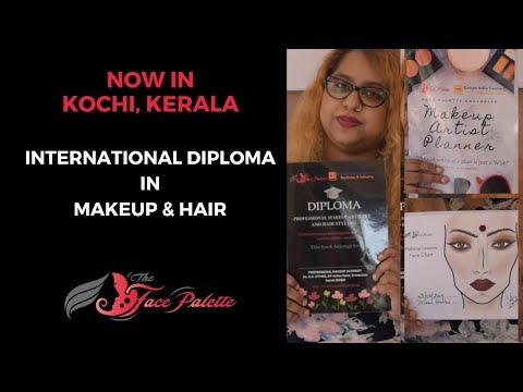 INTERNATIONAL DIPLOMA IN MAKEUP ARTISTRY IN KERALA - INTRO   FACE PALETTE