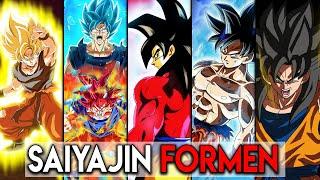 Alle Saiyajin Transformationen in Dragon Ball Erklärt