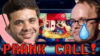 Melee HD PRANK CALL! | Hungrybox prank calls Mew2King