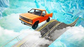 INSANELY MASSIVE RAMP JUMP! (BeamNG Drive)