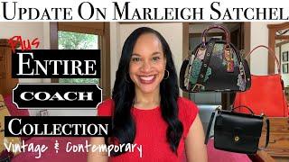 Coach Handbag Collection 2019 | MARLEIGH SATCHEL UPDATE